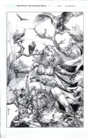 Red Sonja Vulture's Circle 1 Comic Art