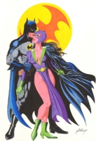 Batman & Catwoman by Paul Gulacy  Comic Art