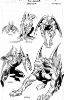 RUSE GARGOYLES Comic Art