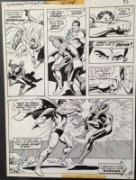 Superman Vs. Spider-Man page 58 Comic Art
