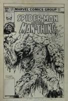 Marvel Team Up 122 cover, Comic Art