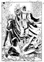 Enter Magneto, Comic Art
