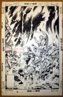 Byrne - X-Men # 113 Variant Cover, Comic Art