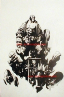 Mignola Hellboy 1993, Comic Art