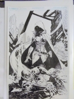 Jim Lee / Scott Williams GRAIL - it really is Grail.  Lol., Comic Art