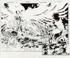 X-Men Jean Grey: The Return of the Phoenix DPS, Comic Art