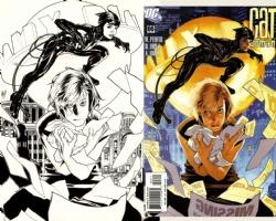 Adam Hughes Catwoman, Comic Art
