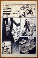 Kelley Jones - Mystery Page Comic Art