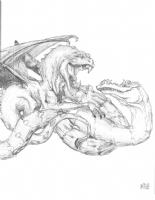 Dragons, Comic Art