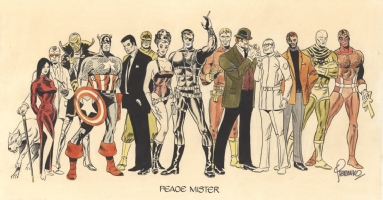 Peace Mister by Steranko Comic Art