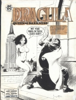 Dragula by Frazetta Comic Art