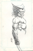 Wolverine by Barry W Smith Comic Art
