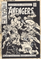 Avengers King Size Annual #2 by Buscema Comic Art