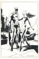Batman and Catwoman by Nowlan Comic Art