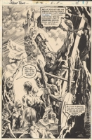 Wrightson - Swampthing #2 page 8 Comic Art