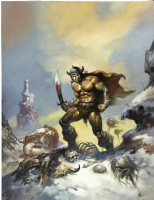 Savage Sword of Conan #10 by Boris Comic Art