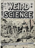Weird Science #13 by Wood Comic Art