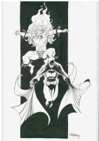 Creeper / Batman Comic Art