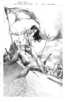 Dejah Thoris and The Green Men of Mars 11  Comic Art