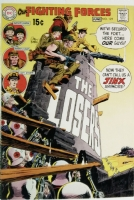 Our Fighting Forces 125 APPROVAL COVER 1970 PROOF ART The Losers vs Nazis  - JOE KUBERT Comic Art