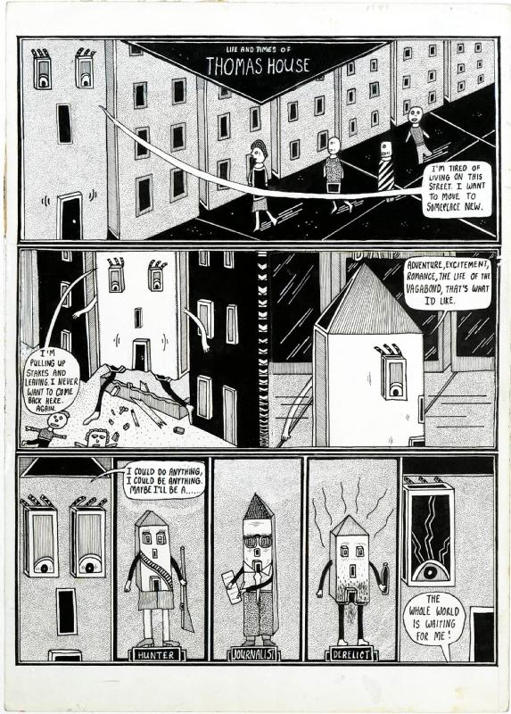 Life & Times of Thomas House, pg. 1 Comic Art