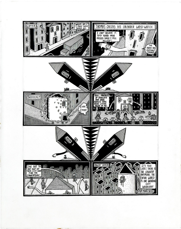 Life & Times of Thomas House, pg. 4 Comic Art