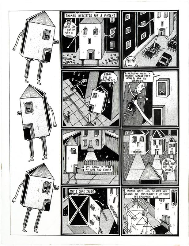 Life & Times of Thomas House, pg. 2 Comic Art