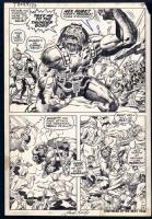 Thor #173, pg. 6 Comic Art