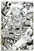Silver Surfer #18, pg. 8 Comic Art
