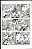 Galaxy Green Comic Art