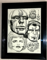 Faces of the Gods - Lord of Light (Argo) - Jack Kirby Comic Art