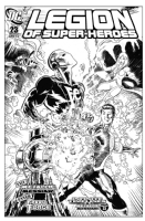 Legion of Superheroes Homage to Brave & The Bold Issue 30 ( Infinite Timelines : A Metallic Messiah - Chapter 23 ) Comic Art