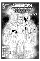 Legion of Superheroes Homage to Identity Crisis Issue 1 ( Infinite Timelines : When Worlds Collide - Chapter 13 ) Comic Art