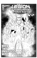 Legion of Superheroes Homage to Identity Crisis Issue 1 ( Infinite Timelines : When Worlds Collide - Chapter 11 ) Comic Art