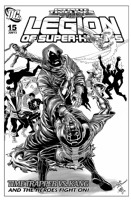 Legion of Superheroes Homage to Avengers 269 ( Infinite Timelines : When Worlds Collide - Chapter 15 ) Comic Art