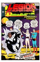 Legion of Superheroes Homage to Age Of Ultron Book 6 - Variant Cover ( Infinite Timelines : Game of Shadows : Chapter 15 - The Anti-Positional Agenda ) Comic Art