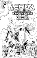 Legion of Superheroes Homage to Captain Action Issue 3 ( Infinite Timelines : A Time to Die & A Time To Love - Chapter 2 ) Comic Art