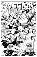 Legion of Superheroes Homage to Marvel Two-In-One Issue 55 ( Infinite Timelines : In The Shadow Of Giants - Chapter 2 ) Comic Art