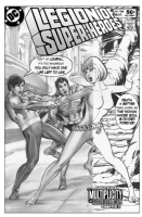 Legion of Superheroes Homage to Flash Issue 203 ( Infinite Timelines : A Multiplicity Of Murders - Chapter 2) Comic Art