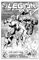 Legion of Superheroes Homage to Avengers 75 ( Infinite Timelines : The Prime Time Paradox - Chapter 10 ) Comic Art