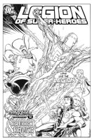 Legion of Superheroes Homage to JSA Issue 21 ( Infinite Timelines : A Metallic Messiah - Chapter 24 ) Comic Art
