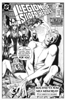 Legion of Superheroes Homage to Animal Man Issue 24 ( Infinite Timelines : A Multiplicity Of Murders - Chapter 15 ) Comic Art