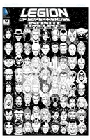 Legion of Superheroes Homage to Crisis On Infinite Earths Issue 5 ( Infinite Timelines - Chapter 9 ) Comic Art