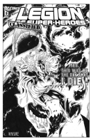 Legion of Superheroes Homage to Dr. Strange Issue 4 ( An Infinite Timelines : When Worlds Collide : Tie-in Event. Part 3 of 6 ) Comic Art