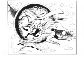 Supergirl & her Super-Pets Silver Age..Glory Days Comic Art