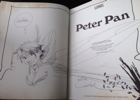 Peter Pan / Clochette Comic Art