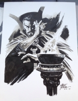 Dr Strange Comic Art