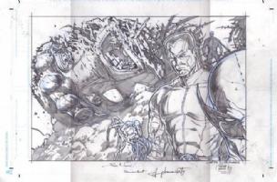 Xmen Comic Art