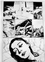 B.P.R.D.   Liz Sherman & Abe Sapien Comic Art