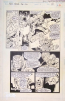 Marvel Fanfare #1 Page 10 Robert E. Brown Comic Art